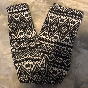 🦊2/$10 - Fleece winter leggings